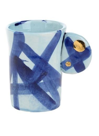 BeMade Kulak Mini Kupa Mavi